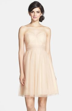 What I would consider for a wedding dress..  Jenny Yoo 'Wren' Convertible Tulle Fit & Flare Dress available at #Nordstrom