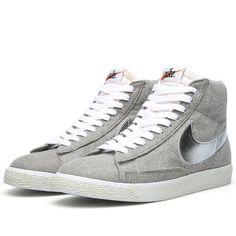 Nike x Beams Blazer Mid PRM VNTG QS (Granite & Metallic Silver)