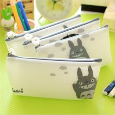 Novlety My Neighbor Totoro Jelly Pu Leather Pencil Case Stationery Storage Organizer Bag School Office Supply Gift Stationery #>=#>=#>=#>=#> Click on the pin to check out discount price, color, size, shipping, etc. Save and like it!