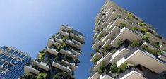 """Immobilien: """"Die Deutschen leiden an einem Hochhaus-Trauma"""". Bild: Getty Images/Photographer's Choice https://www.welt.de/finanzen/immobilien/article171843679/Immobilien-Die-Wiederauferstehung-des-Hochhauses.html #Immobilien #Hochhaus"""