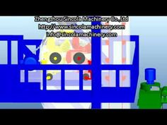 How to mix dry mortar cement putty: Animation production line Youtube Share, Production Line, 3d Animation, Cement, Mixer, Plant, Construction, Building, Plants