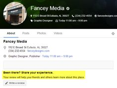 Google Plus Local lets customers share their experience about your company. Take advantage!