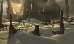FEATURED ARTIST: ioan dumitrescu. Great composition & sense of scale in this #conceptart