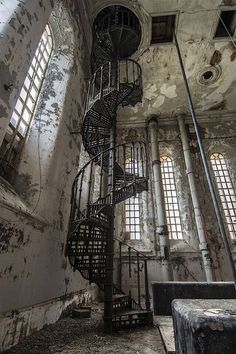 I dream of similar places. I think that this might be an old fire house. This is an awesome image!