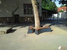 Boombank DeLuxe Antraciet Ovaal bij Förderkreis Schillerschule Mainz Weisenau e.V. in Mainz