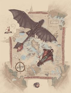 """""""Dragon Trainer"""" by sergiomancinelli. Based on """"How to Train Your Dragon"""". [Sold at OtherTees] Httyd Dragons, Dreamworks Dragons, Dreamworks Animation, Hiccup And Toothless, Hiccup And Astrid, Fantasy Wesen, Dragon Trainer, Dragon Art, How To Train Your Dragon"""