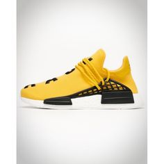 cheap for discount e66b5 7de57 Boutique Chaussures FemmeHomme Adidas Original HU NMD x Pharrell Williams  Jaune JauneJaune