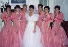 Would You Rock These Hideous Bridesmaids' Dresses?