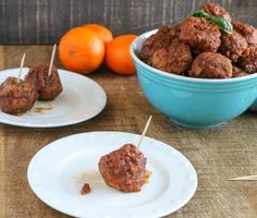These Instant Pot Orange Glazed BBQ Meatballs are perfect for those nights when you forgot to plan for dinner and you want to serve something the kids won't gripe about. It's a quick and easy recipe that you can just dump right into your Instant Pot and have dinner on the table quickly. If you're serving them for dinner, you can serve them over egg noodles or rice. This is also one of my favorite easy appetizers. They're perfect if you want to serve something hearty but still bite-sized.