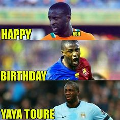 Happy Birthday Yaya Toure