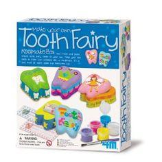 make your own toothfairy kit $9, amazon