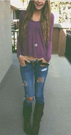 Acacia Brinley. I love this outfit! I'm literally wearing the same thing right now!