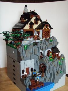 I really like this one..Would love to see the house interrrior -  Lego Mine 2