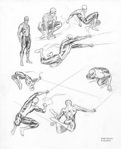 The Self-Absorbing Man: Ultimate Spider-Man — Action Poses