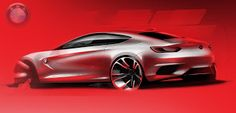 "Alan Derosier - Transportation design: BMW CC ""Christmas Colors"""
