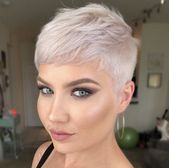 Today we have the most stylish 86 Cute Short Pixie Haircuts. We claim that you have never seen such elegant and eye-catching short hairstyles before. Pixie haircut, of course, offers a lot of options for the hair of the ladies'… Continue Reading → Super Short Hair, Short Grey Hair, Short Hair Cuts, Very Short Pixie Cuts, Messy Pixie Cuts, Short Pixie Haircuts, Short Hairstyles For Women, Hairstyles Haircuts, Asian Hairstyles