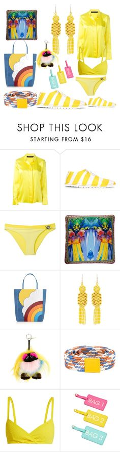 """set sale alert"" by denisee-denisee ❤ liked on Polyvore featuring Alexandre Vauthier, Marsèll, Versace, Camilla, Anya Hindmarch, Etro, Fendi, Sofie D'hoore, Lisa Marie Fernandez and vintage"