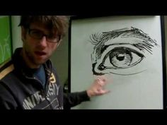 How to draw eyes on a face - Pt 1- Mural Joe - YouTube