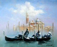 ''San Giorgio, Venice'' Georges Corominas