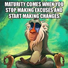 Start making changes