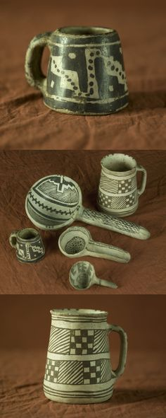 When archaeologists excavated Mesa Verde in the late 19th century, they found a collection of mugs so vast that they named the discovery site the Mug House. Because artifacts like these are so rare and so intrinsic to our understanding of a past culture, according to preservation law, prehistoric archaeological artifacts are actually considered a part of the built environment -- something typically reserved for architecture. Check them out at HCC's newest exhibit, Living West, opening Nov 23...