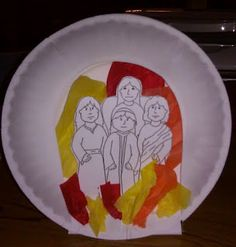 Fiery Furnace Bible Craft. You can find the pattern from this craft on Danielle's Place of Crafts and Activities