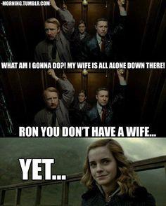 Granger's face is priceless.