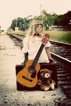 Even at a young age I knew music was my life. With my old acoustic guitar and my teddy bear in hand, I set off to start my career.