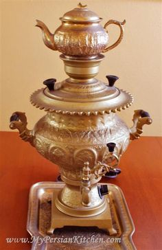 I would like to buy a samavar for our kitchen when I go to visit Iran next summer.