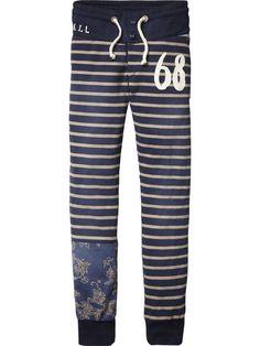 Woven Waistband Sweat Pants | Pants 5 sizes | Boy's Clothing at Scotch & Soda