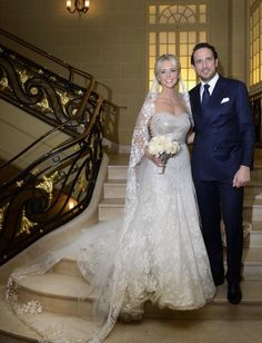 Huwelijk Chantal Janzen 15 dec. 2014