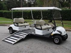 I have a new respect for people now. A wheelchair accessible golf cart. :) - If you want to make your life easier to access call Anglia Stairlifts or visits our website at www.anglia-stairlifts.co.uk for a quote today.