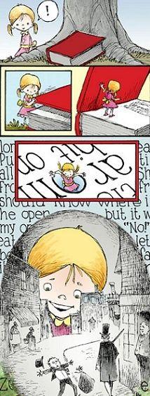 O Lobo Leitor: A entrar dentro de uma história