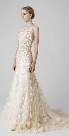 Modern Peter Langner Wedding Gown Collection