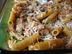 Biaggi's Ziti Al Forno recipe- I made this last night and it was AWESOME!!