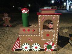 Gingerbread choo choo train!