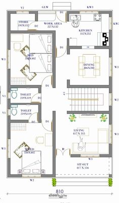 20x30 House Plans, Free House Plans, Simple House Plans, House Layout Plans, Family House Plans, Country Style House Plans, Cottage House Plans, Single Floor House Design, Home Design Floor Plans