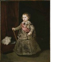 Diego Velázquez (1599 - 1660) Prince Baltasar Carlos in Silver Spain 1633  Painting Oil on canvas