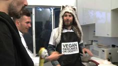 VEGAN PANCAKES OR DEATH !!!  Hilarious 40 second clip - Cooking with Tomo & Jared Leto of Thirty Seconds To Mars on VyRT.com. VyRT is a social theatre - a platform for viewing live concerts and events. It's awesome.