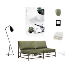 """010"" by fewtopia ❤ liked on Polyvore featuring interior, interiors, interior design, home, home decor, interior decorating, Gubi, Byredo, HomArt and Stephen Kenn"