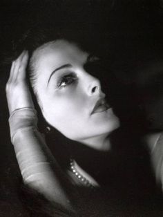 Hedy Lamarr, one of the top beauty's of Hollywood.