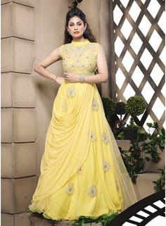Suhaag full hindi movie amitabh bachchan shashi kapoor fabulose yellow row silk net designer salwar suit httpangelnx thecheapjerseys Gallery