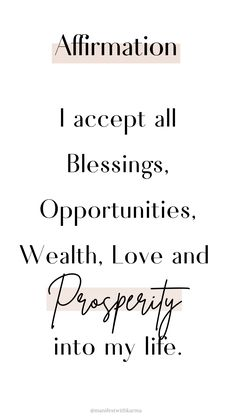 Affirmations are a powerful way to reprogram your subconscious mind to attract abundance & Success! - Welcome to our website, We hope you are satisfied with the content we offer. Positive Affirmations Quotes, Wealth Affirmations, Morning Affirmations, Law Of Attraction Affirmations, Affirmation Quotes, Positive Quotes, Motivational Quotes, Inspirational Quotes, Quotes To Live By