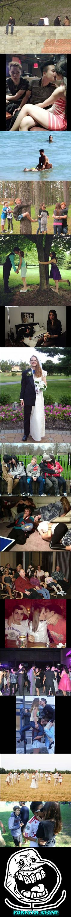 Forever Alone People Pictures Compilation