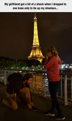 Never Tie Your Shoelaces In Paris - Funny Memes. The Funniest Memes worldwide for Birthdays, School, Cats, and Dank Memes - Meme Haha Funny, Funny Cute, Funny Shit, Funny Jokes, Funny Stuff, That's Hilarious, Hahahaha, Funny Pictures Hilarious, Hilarous Memes