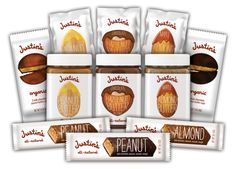 Justin's Nut Butter - love the chocolate almond!!