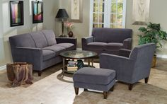 Lucas/Braden Living Room Set by Flexsteel at Crowley Furniture in Kansas City