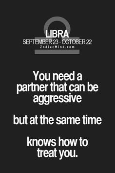 """You need a partner that can be """"assertive"""" (aggressive not the right word)"""