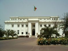 The Presidential Palace of Senegal