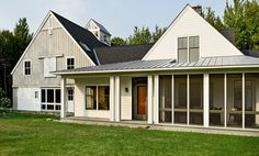 South Facade - traditional - exterior - portland maine - Whitten Architects